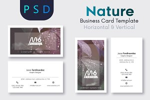 Nature Business Card Template- S23