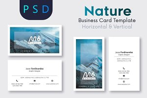 Nature Business Card Template- S24