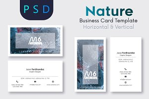 Nature Business Card Template- S25
