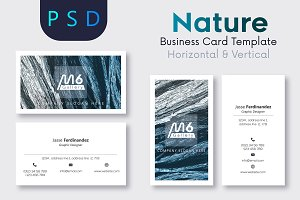 Nature Business Card Template- S26