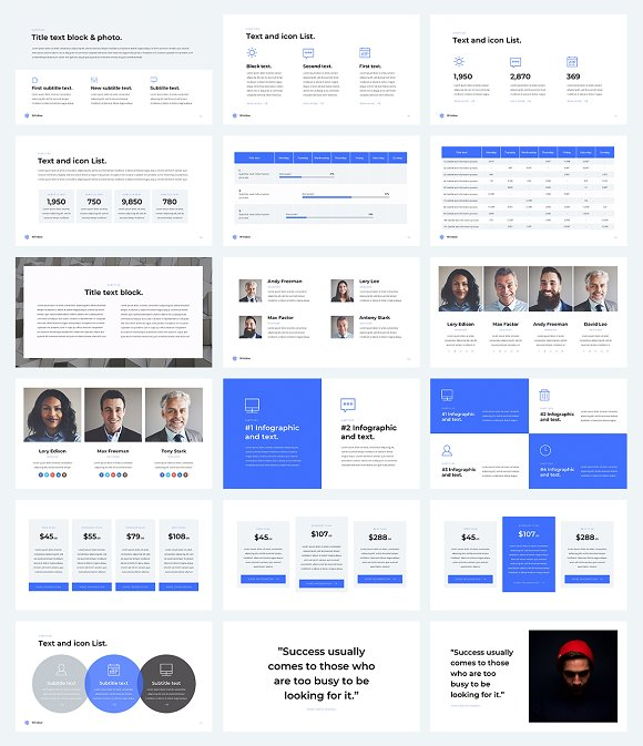 business powerpoint template 2018 presentation templates