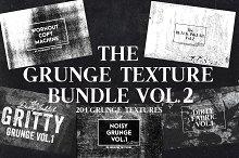 The Grunge Texture Bundle Vol. 2