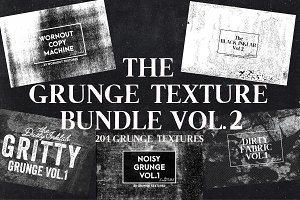 The Grunge Texture Bundle Vol. 2