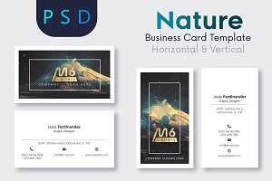 Nature Business Card Template- S27