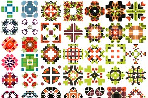 Big vector patterns set