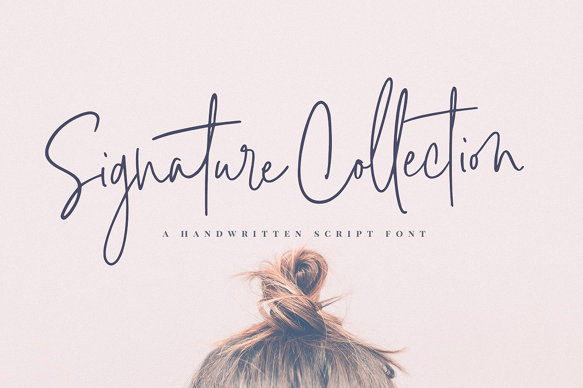Signature Collection Script Font ~ Script Fonts ~ Creative