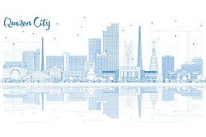 Outline Quezon City Philippines