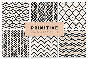 Primitive Seamless Patterns Set
