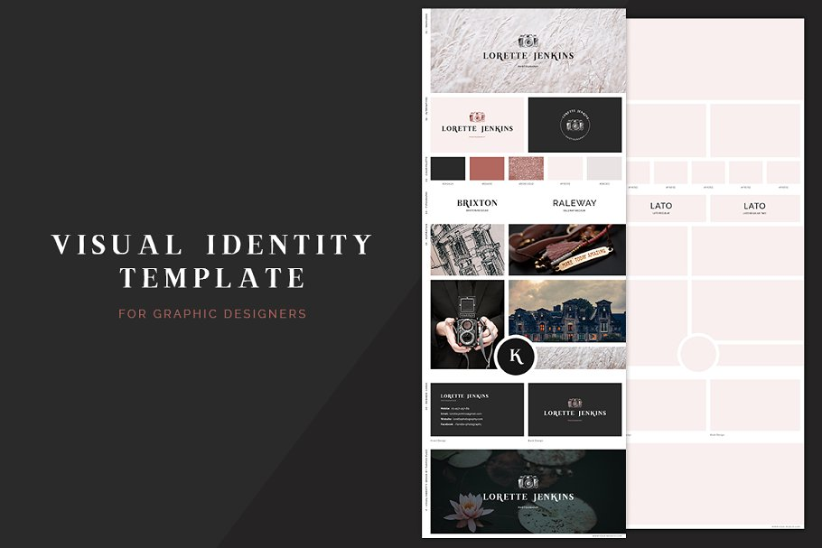 Visual Identity Template Other Presentation Software