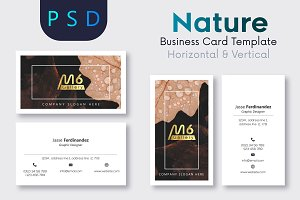Nature Business Card Template- S28