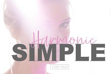 SIMPLE Harmonic Font Duo