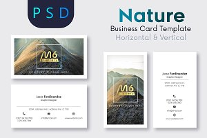 Nature Business Card Template- S29