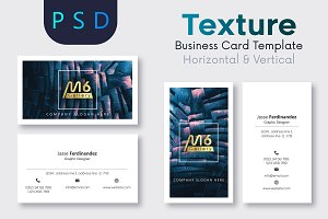 Texture Business Card Template- S30