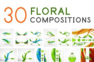 Floral compositions collection