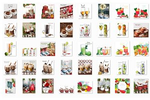 Vector 45 cocktail drink bundle