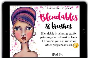 Procreate Blendable  Brushes