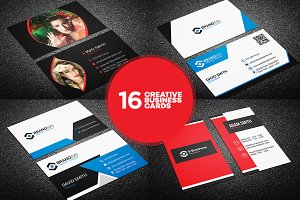 16 Creative Business Card Templates