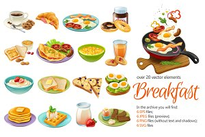 Breakfast Menu Set