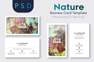 Nature Business Card Template- S32