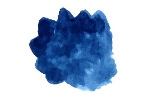 Vector blue watercolor texture