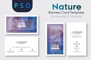 Nature Business Card Template- S33