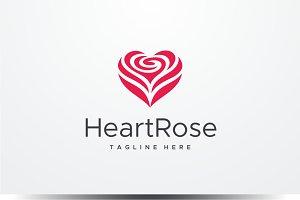 Heart Rose Logo
