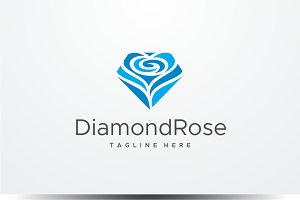 Diamond Rose Logo