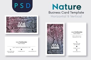 Nature Business Card Template- S34