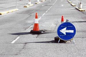 Road detour