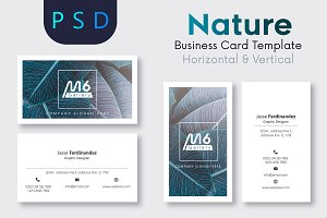 Nature Business Card Template- S35