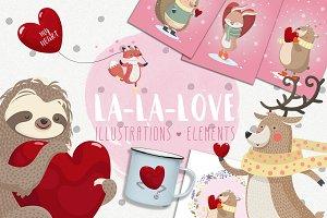 -30% La-La-Love. Romantic collection