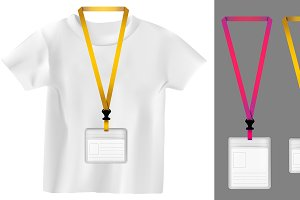 Set of lanyard