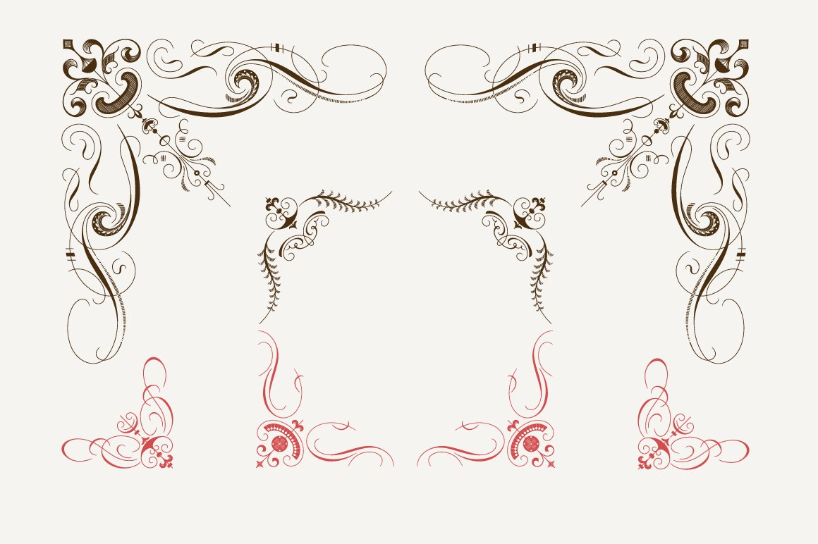 Decorative Corners N2 Illustrations Creative Market