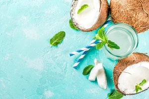 Fresh Organic Coconut Water