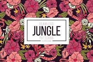 Jungle Floral Patterns & Designs