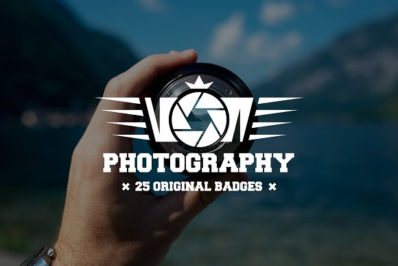 Set Of Photography Logo And Badges