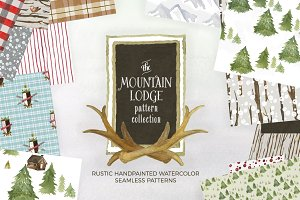 Mountain Lodge Patterns