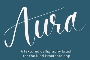 Procreate Calligraphy Brush | Aura