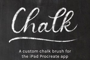 Procreate Chalk Brush
