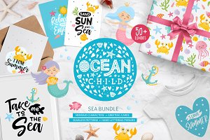 Ocean Child. Sea Bundle