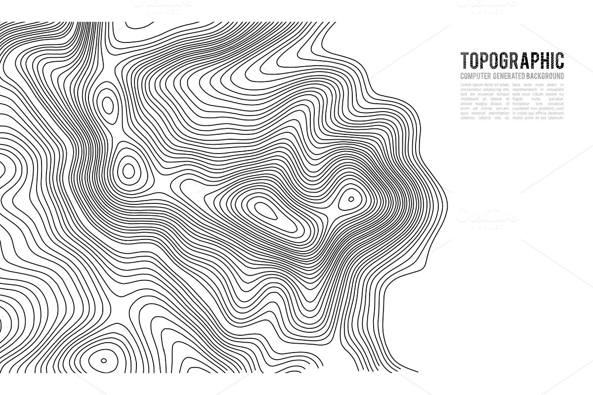 How Do You Find The Elevation On A Topographic Map.Topographic Map Contour Background Topo Map With Elevation Contour