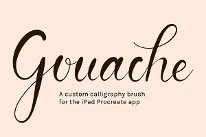 Procreate Brush | Gouache Smooth