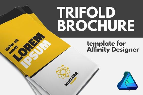 Trifold Brochure Template Brochure Templates Creative Market