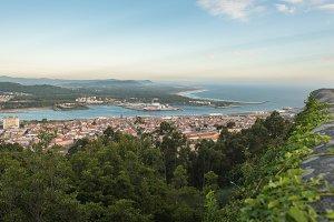 Aerial view of Viana do Castelo