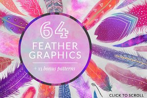 Feather Graphic Pack