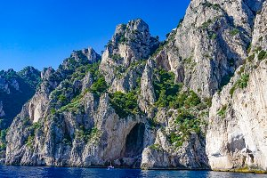 The White Grotto: Capri, Italy