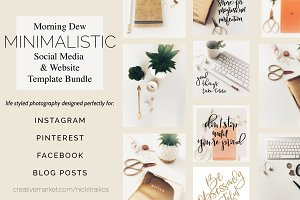 Morning Dew Social Media MEGA Bundle