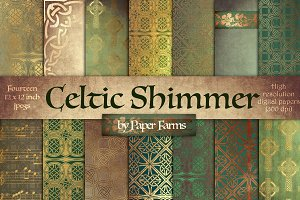 Celtic digital paper