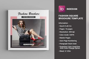 Square Fashion Brochure - V779