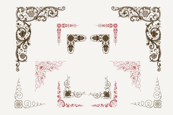 Decorative Corners N°6